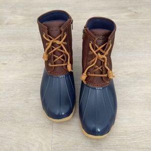 Sperry Saltwater Duck Boots Womens 8